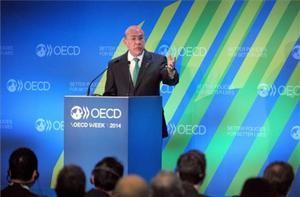 El secretario general de la OCDE, Ángel Gurría, en una imagen de archivo.