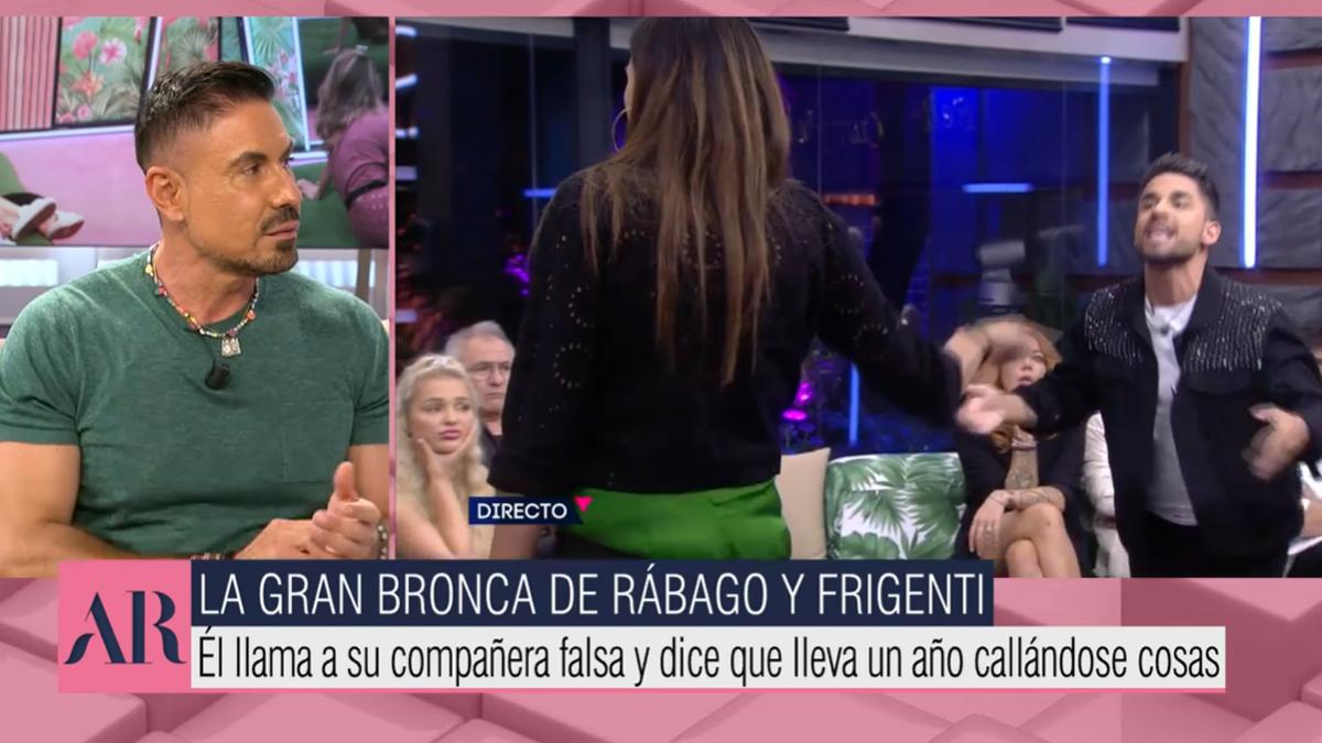 Miguel Ángel Nicolás en 'El programa de Ana Rosa'.