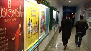 Los cines Meliès de Barcelona, una de las salas víctimas de la crisis: ha tenido que cerrar.