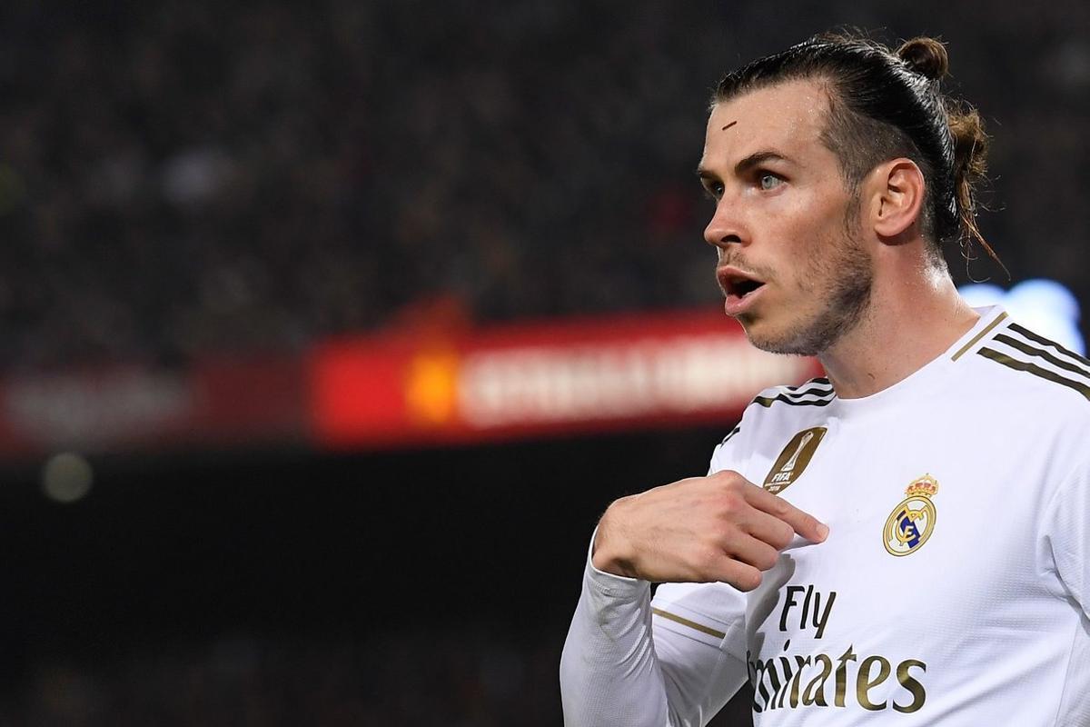 El galés Gareth Bale durante un partido con el Real Madrid.