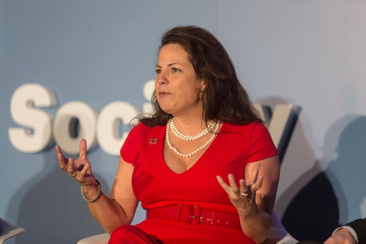 Natalia Olson-Urtecho, emprendedora, ex secretaria de innovación del Gobierno de Obama y actualmente asesora del Banco Mundial.