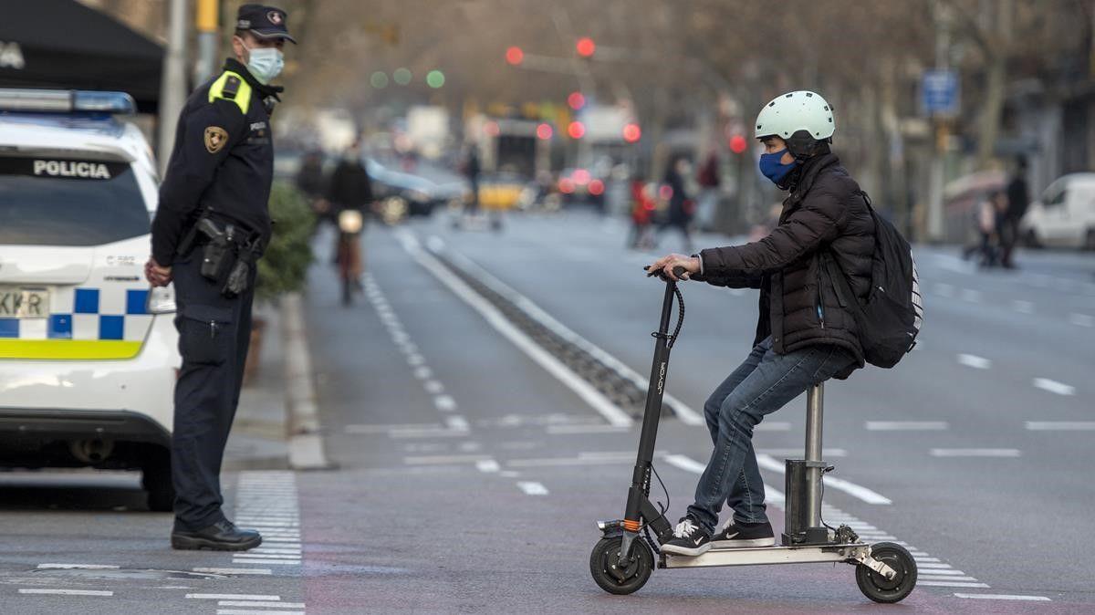 El uso del patinete se dispara en el entorno de Barcelona