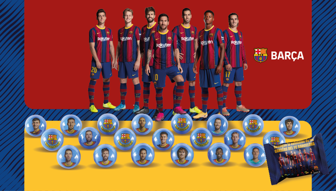 Las canicas del FC Barcelona