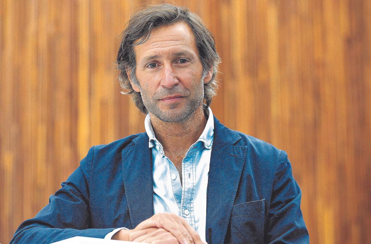 Cebrián, en el Auditorio de la Diputación de Alicante, durante el congreso Fexdir