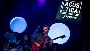 Actuación de El Petit de Cal Eril en Figueres, en agosto del 2019.