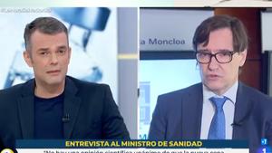 Així va negar Salvador Illa a TVE que seria el candidat del PSC en les eleccions de Catalunya