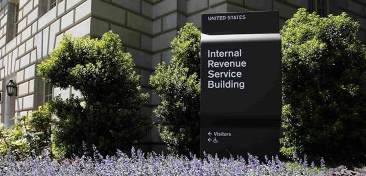 Edificio del IRS, en Washington.