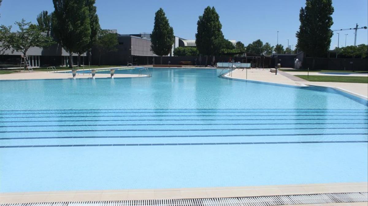 Imagen de archivo de las piscinas municipales de Tàrrega.