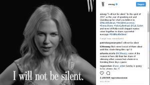 Nicole Kidman, en la campaña de 'W'.