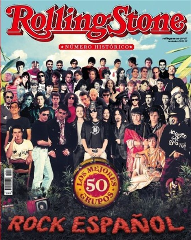 Portada de noviembre de la revista 'Rolling Stone'.