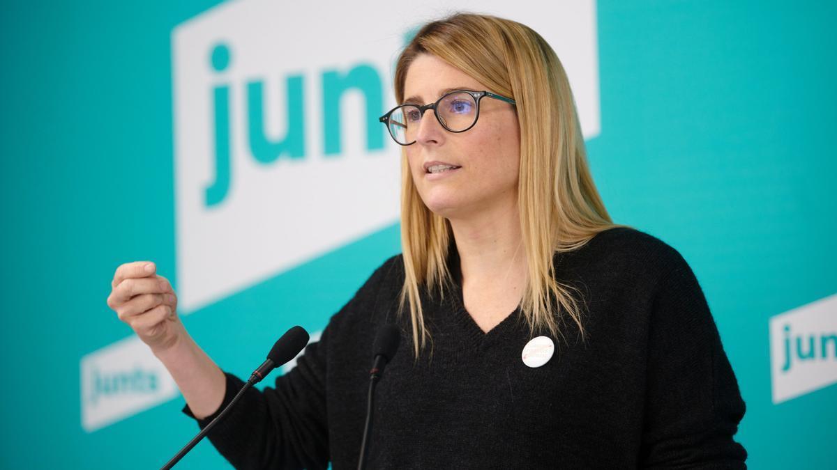 La diputada deJunts X Catalunya(JxCat)Elsa Artadi,