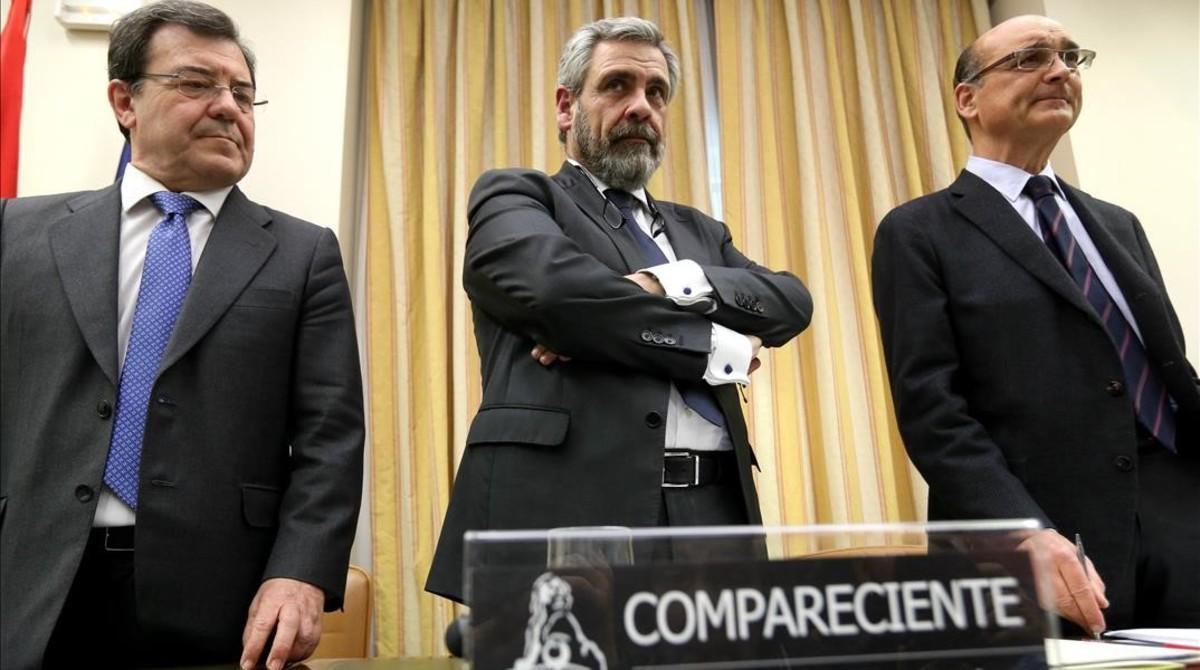 Daniel De Alfonso en su comparecencia en el Congreso.