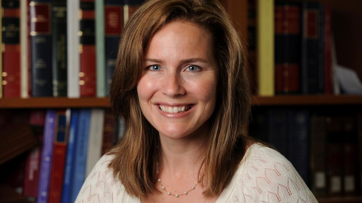 La juez antiabortista y conservadora Amy Coney Barret.