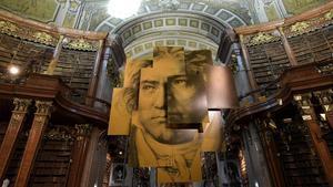 Exposición sobre Beethoven en la Biblioteca Nacional de Austria.