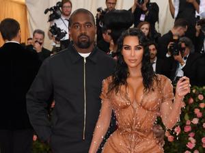 Kim Kardashian y Kanye West, en la gala Met del 2019.