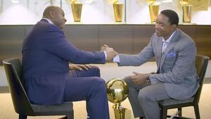 Magic e Isiah Thomas, en el programa de NBATV en el que sellaron su reconciliación