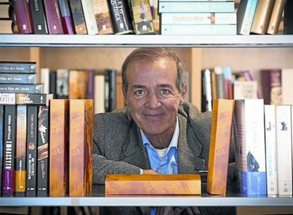Revelador 8 El escritor italiano el pasado jueves en Barcelona.