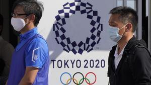 Miembros de la organización de los JJOO de Tokio