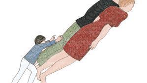 Ilustración del libro 'Los Pequeños', de Marion Fayolle.