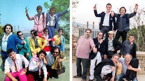 Los Manolos interpretan en acústico 'Seré feliz (I will survive)'.