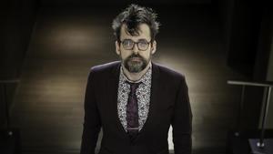 Matt Fraction, fotografiado en el Salón del Cómic