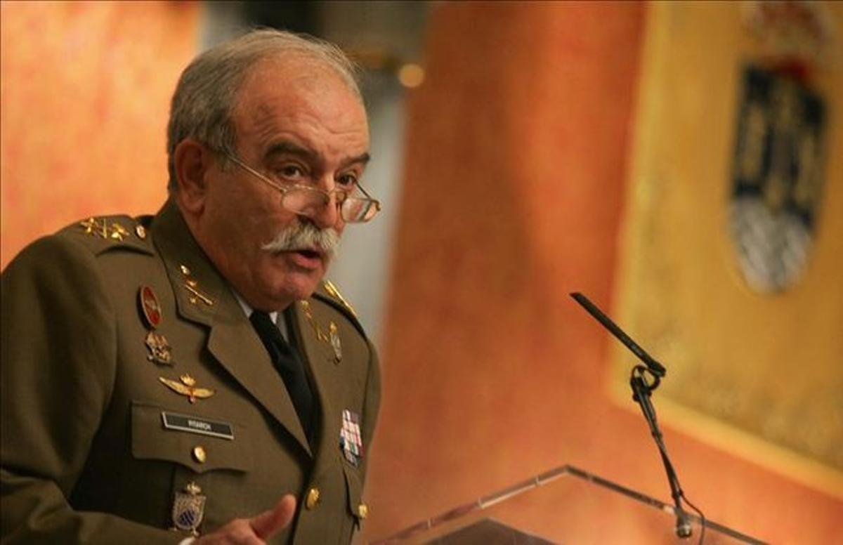 El general retirado Pedro Pitarch, en una foto de archivo