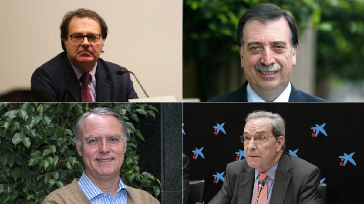 Jordi Alberich, Eugeni Gay, Carlos Losada y Jaume Lanaspa