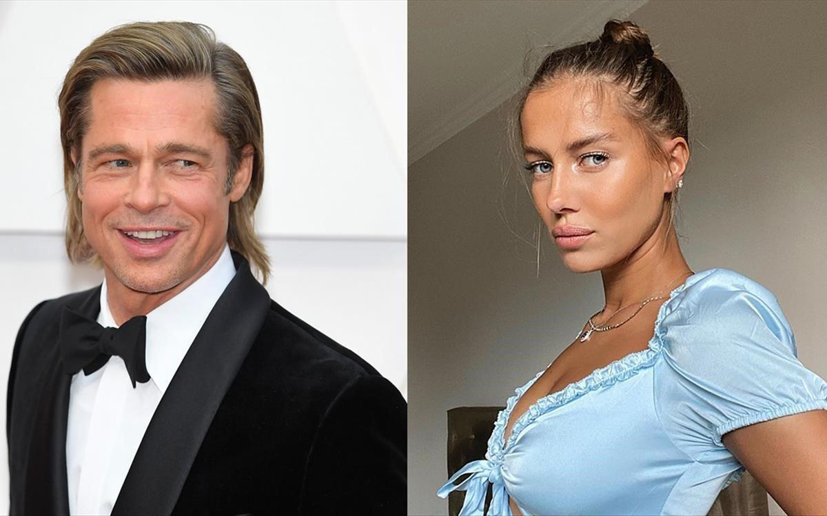 La model alemanya Nicole Poturalski, la nova nòvia de Brad Pitt
