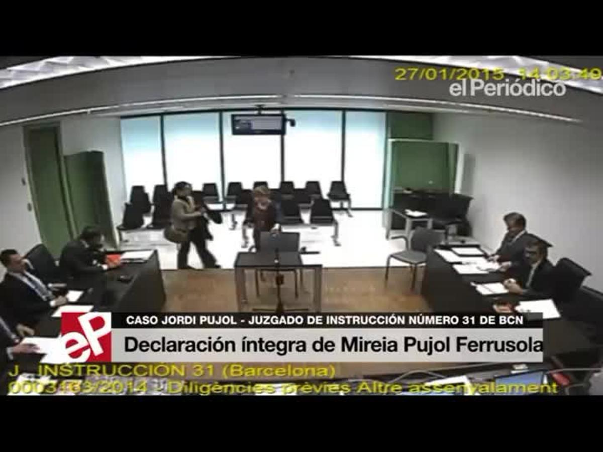 Declaración íntegra de Mireia Pujol Ferrusola.