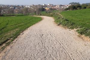 Rubí inverteix 34.000 euros en millores per «garantir» el bon estat de diversos camins