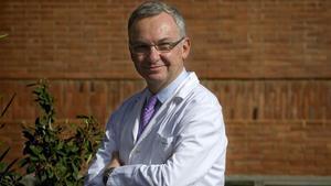 Josep Baselga en el servicio de oncología de la Vall de Hebron en el 2009.