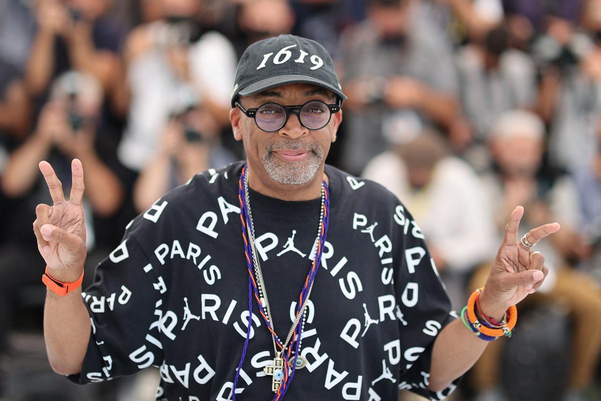Spike Lee, en el festival de Cannes.