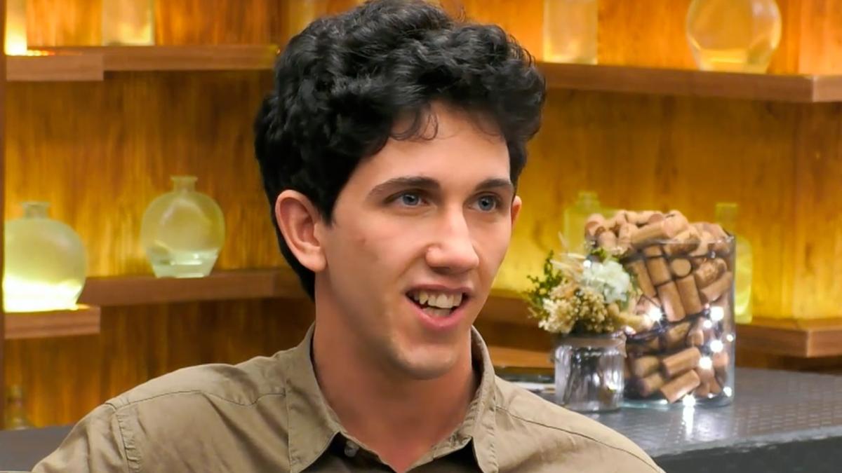 Ángel en 'First Dates'