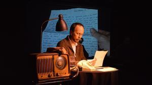 Imagen del actor Sergio Alessandria, en una edición anterior del ciclo Correspondencias.