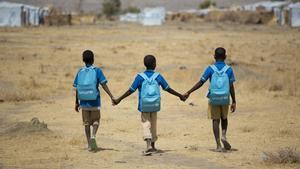 Más de un tercio de la población estudiantil afectada vive en países del África Subsahariana.