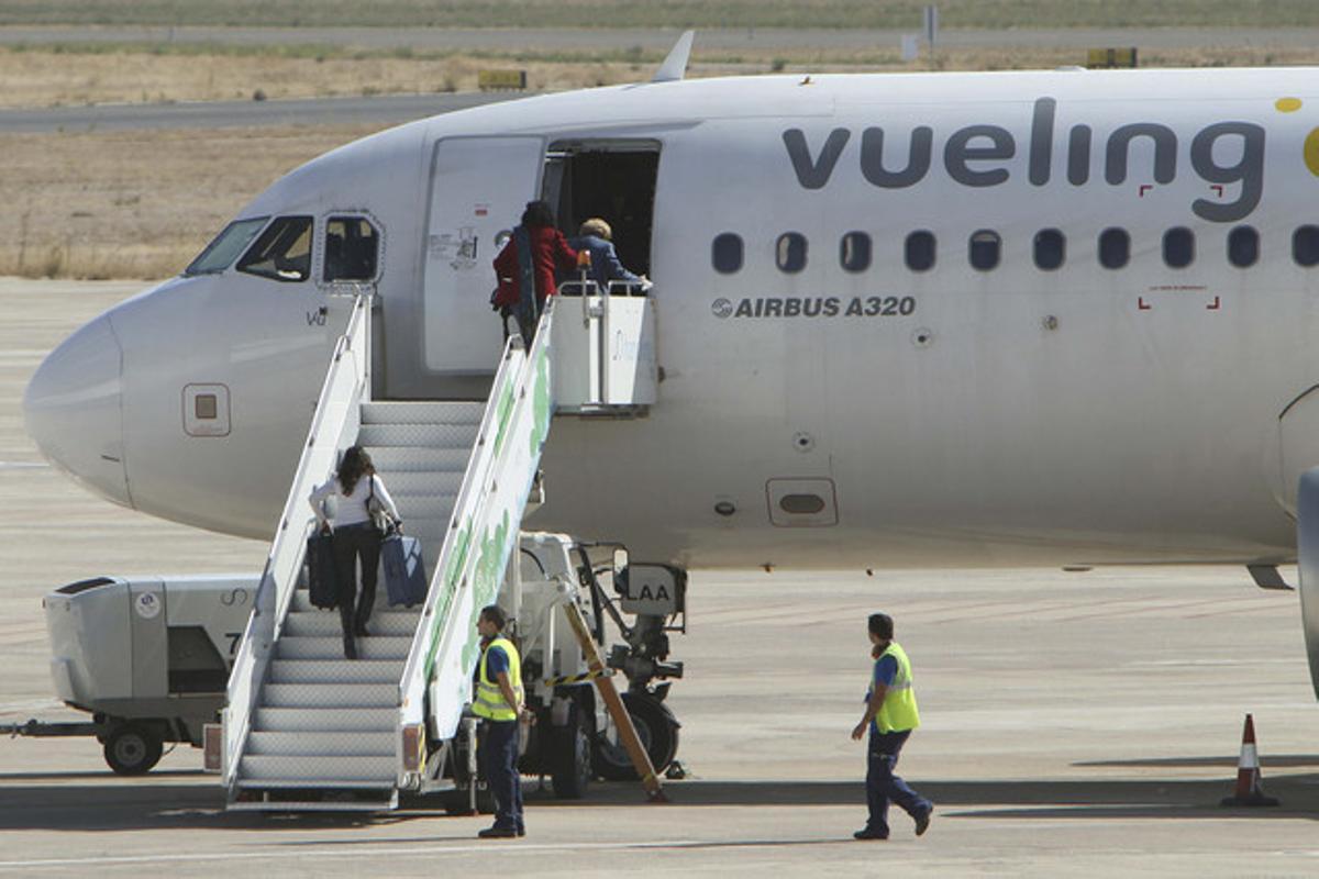 Un avión de Vueling.