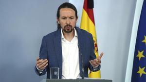 Iglesias revela que va tenir una «discussió forta» amb Sánchez per la marxa de Joan Carles I