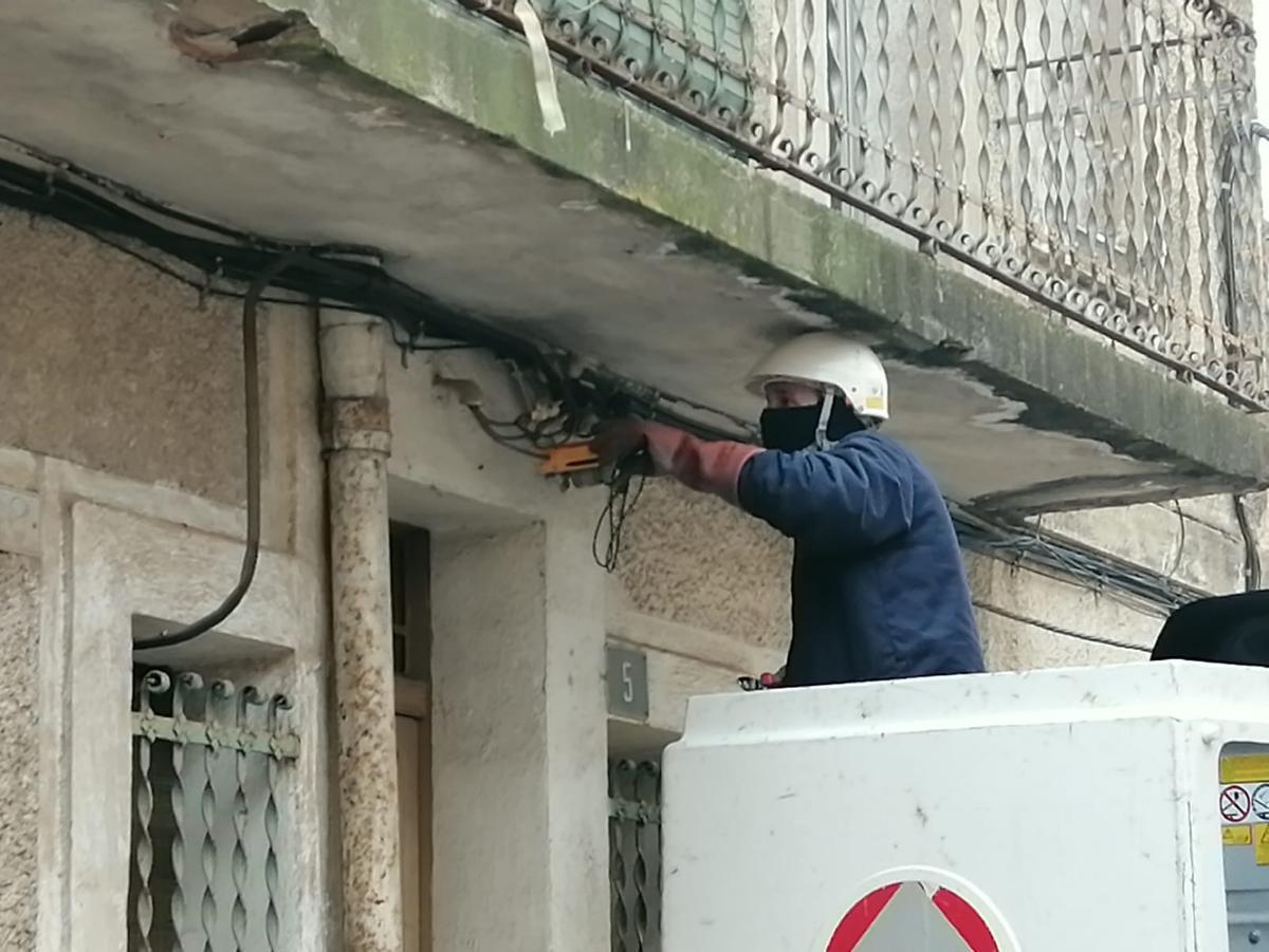 Operativo en el barrio de la Barceloneta de Gavà