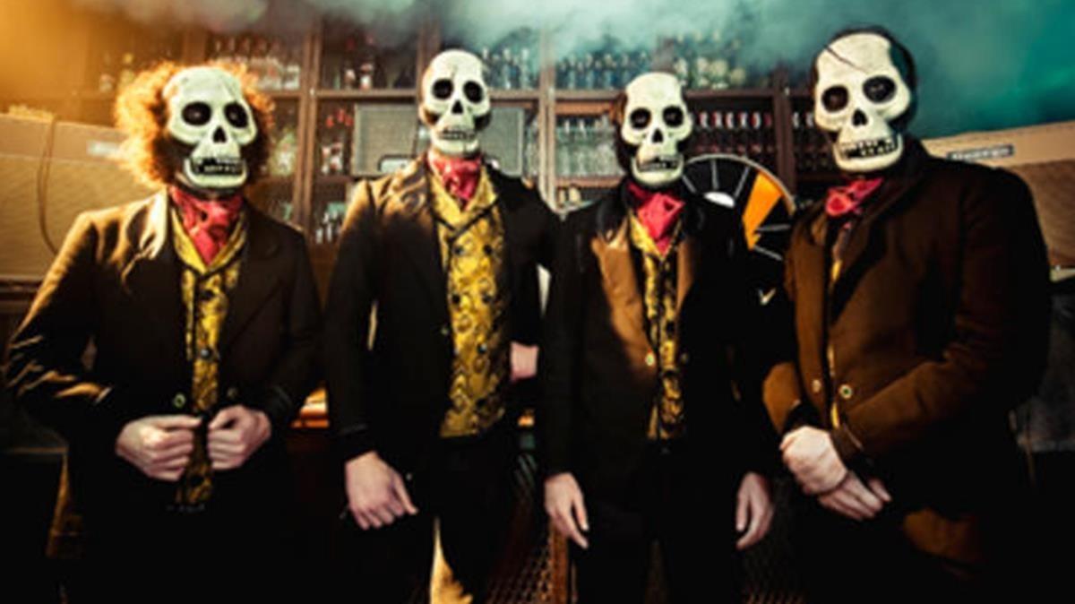 Los Tiki Phantoms en una foto promocional