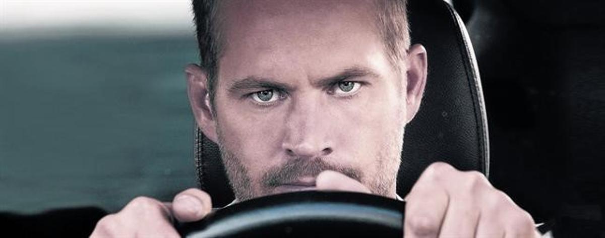 Paul Walker, en un fotograma de 'Fast & furious 7'.