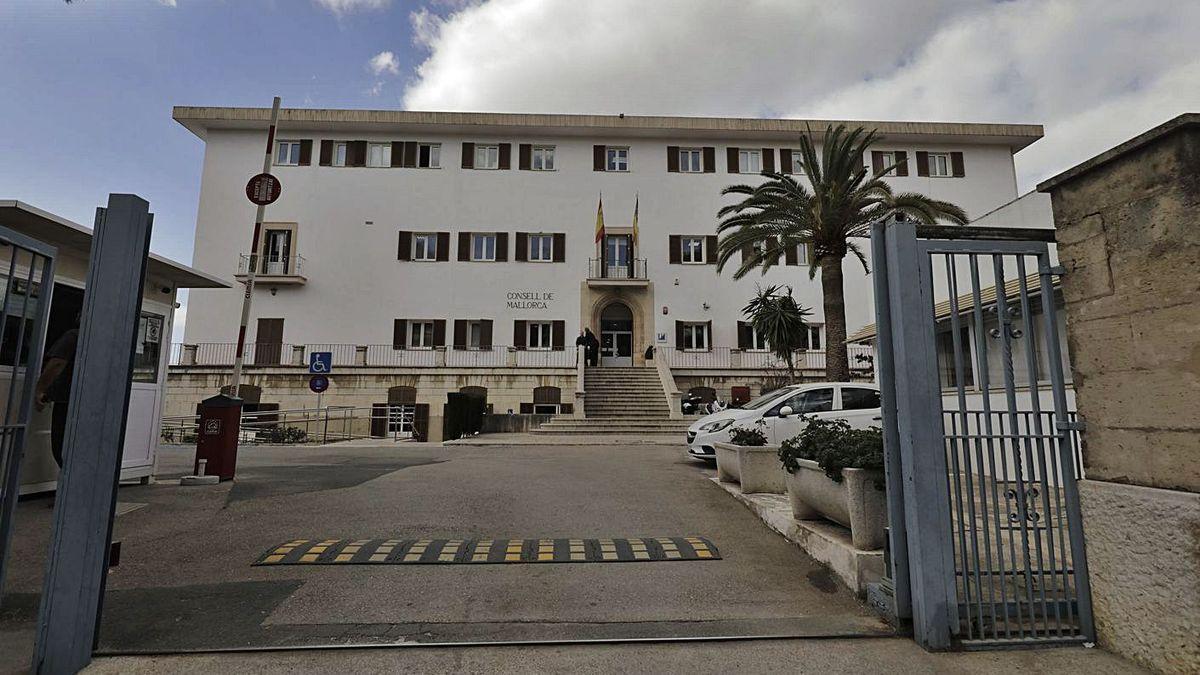 Sede del Institut Mallorquí d'Afers Social (IMAS), situado en la calle General Riera