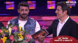 Jorge González, ganador de 'Tu cara me suena 8'.