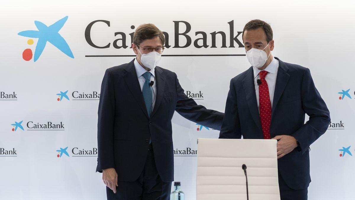 José Ignacio Goirigolzarri y Gonzalo Gortázar, hace unas semanas en Valencia.