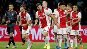 El Ajax obtuvo su primer triunfo de la temporada 2019-20