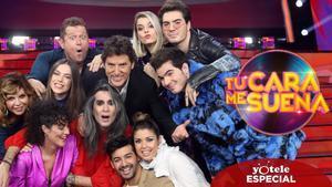 Manel Fuentes y los concursantes de 'TCMS 8'.