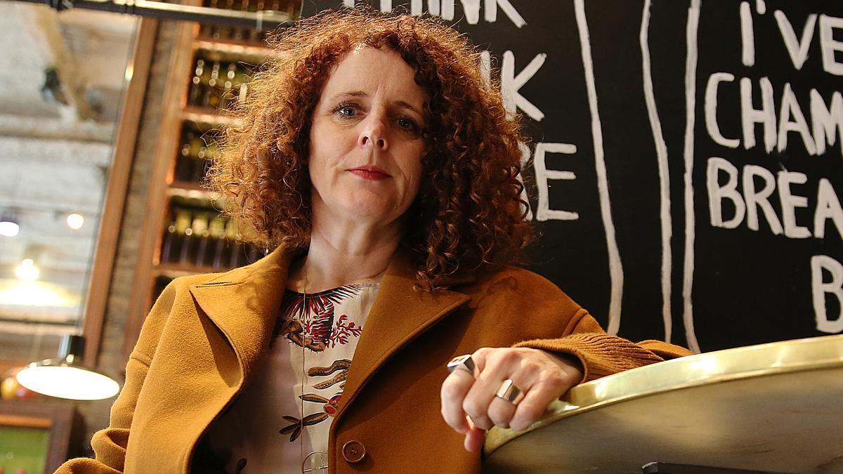 La escritora irlandesa Maggie O'Farrell.