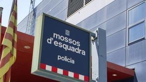 Comisaría de los Mossos d'Esquadra.