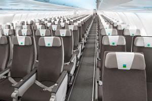 Configuración de asientos de la aerolínea Level.