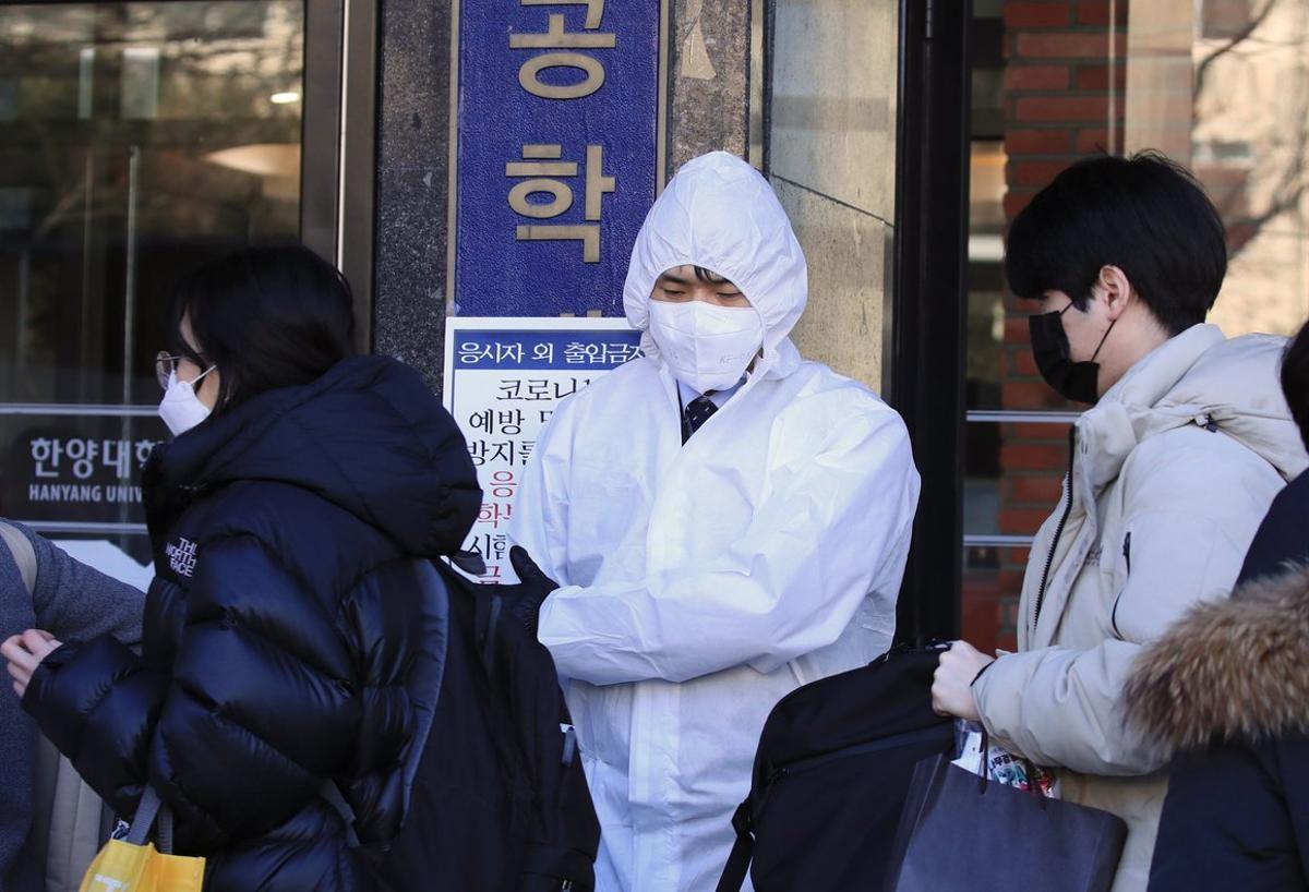Corea del Sur reportó 60 nuevos casos.