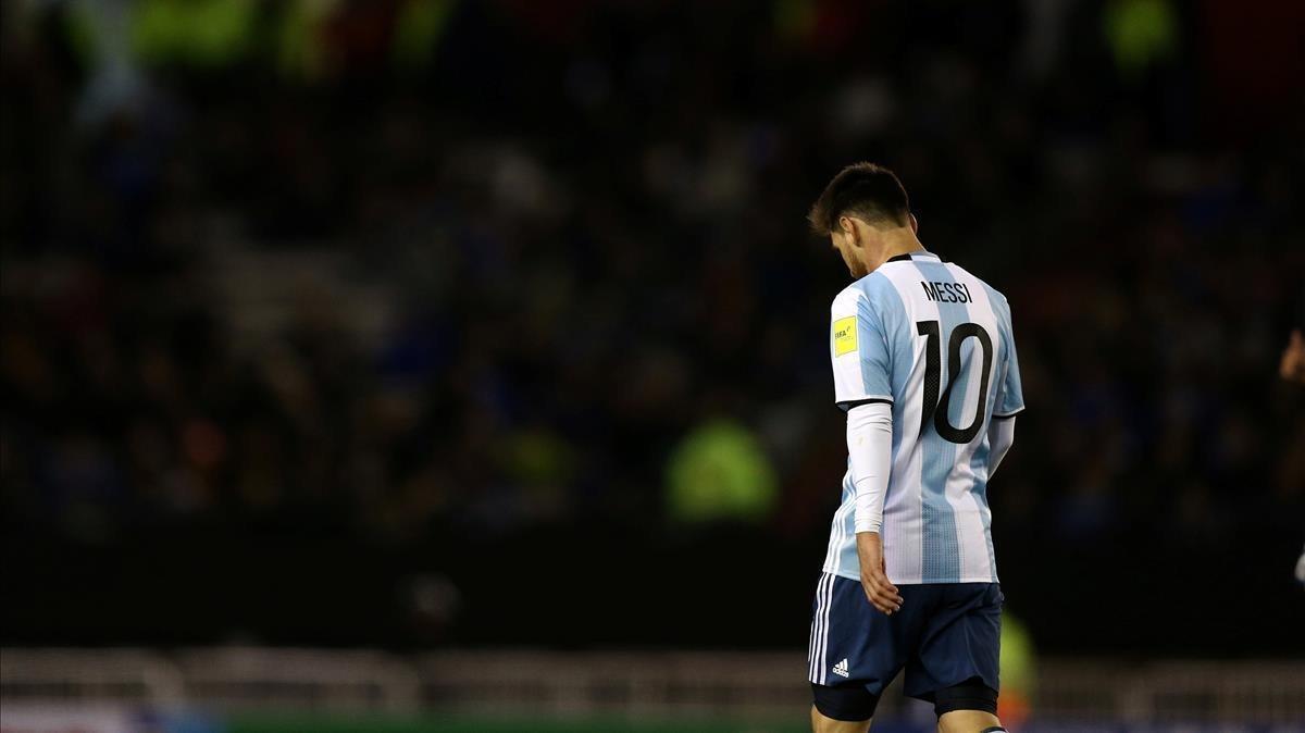 Fiasco argentino: empata 1-1 con Venezuela y peligra su clasificación para el Mundial